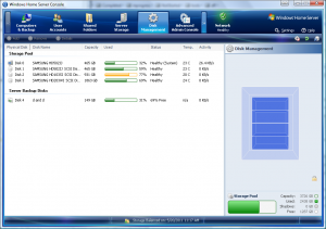 WHS Disk Manager